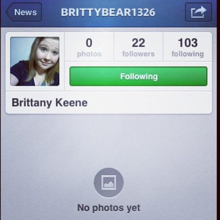 @brittybear1326 put up some photos!  Instagram