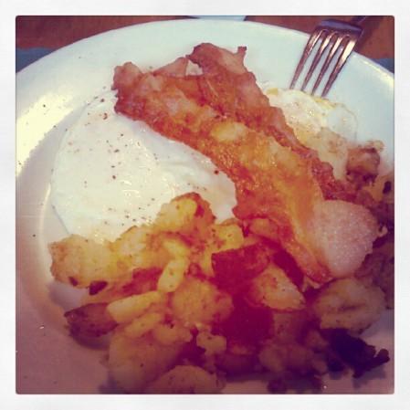 A little Table Talk breakfast.  Instagram