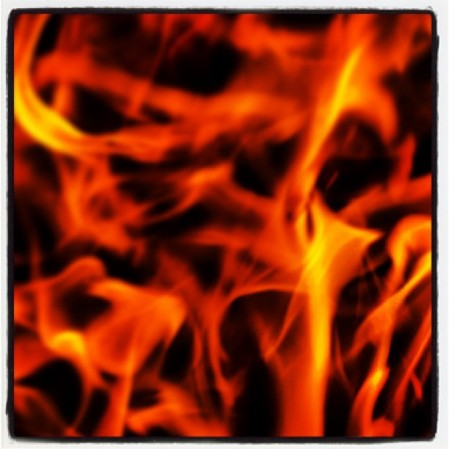 #fire is so cool  - Instagram