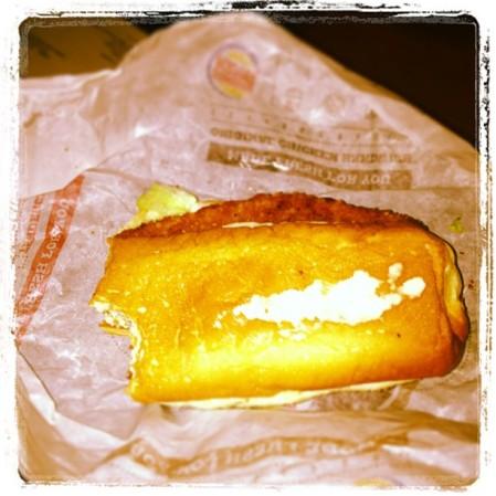 #chicken #burgerking  - Instagram