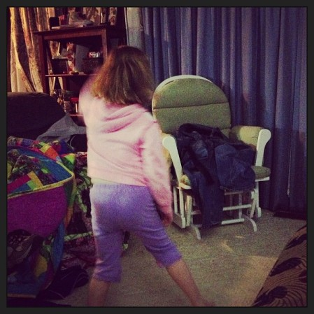 Dancing to White T #frankenweenie  - Instagram