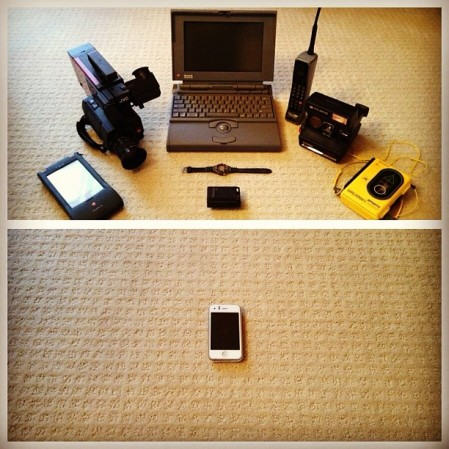 I remember all these and it is  amazing how far #technology and #electronics have come in 20 years. Why is it that  we haven't done anything about living is #space. #nasa  - Instagram