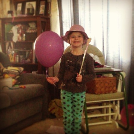 Styling... Easter Hat, Fairy Wand, and Magic Balloon #children #ahd  - Instagram