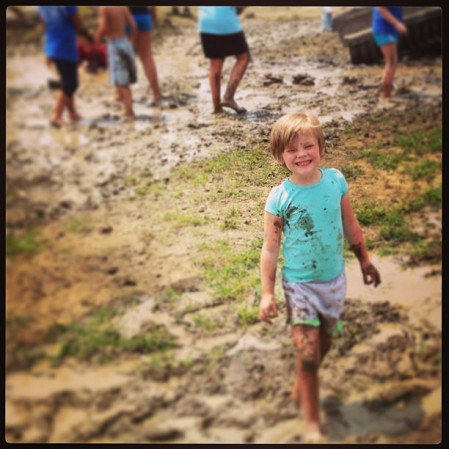 G playing in the Mud @ KC Muckfest #muckfest #ms #mud  - Instagram