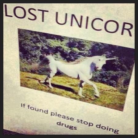 #unicorn & #drugs  - Instagram