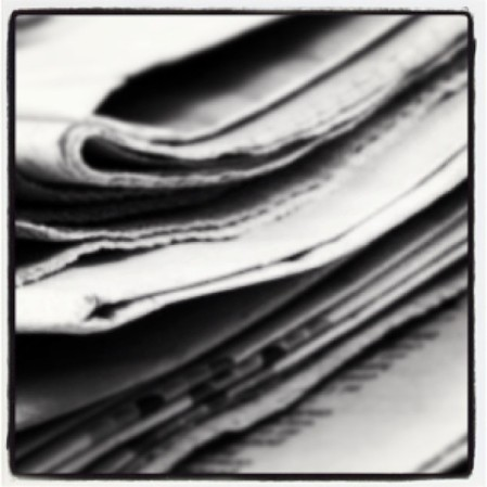 Someday the paper will replace... By what? #newspaper  - Instagram