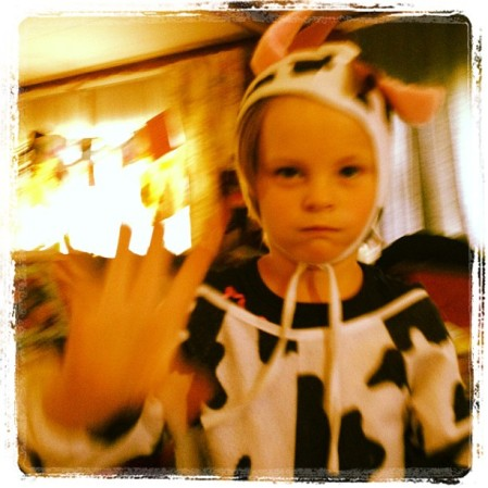 Dress up time! #dressup #cowgirl #cow #chic-fil-a  - Instagram