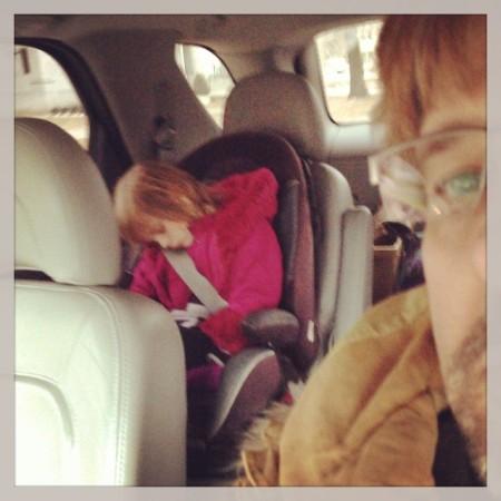Kindergarten must be really hard! #school #kindergarten #sleep #outofit  - Instagram