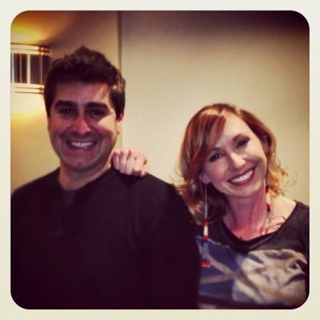 Kari Byron & Tory Belleci at Washburn University !! Great show about #mythbusters @karibyron @torybelleci  - Instagram
