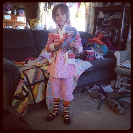 Styling! G newest fashion combo. #silly #outfit #kids  - Instagram