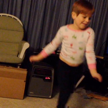Dancing to Cloudy with a chance of Meatballs 2 #dance #meatballs  - Instagram