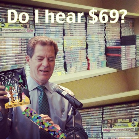 "Sam Brownback is selling porn and person massage devices. The Wizzard of Oz would be shocked. ""Ignore the man with the dildo behind the curtain."" #kansas #sambrownback #dildos #porn #taxes  - Instagram"